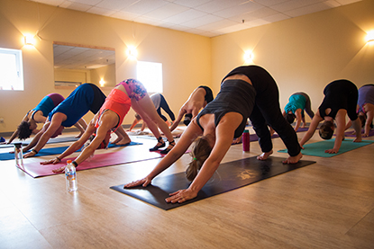 heated yoga classes