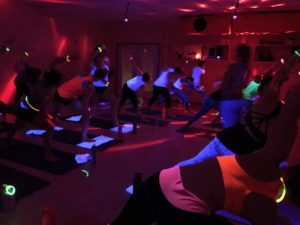 Studio Black Light Yoga