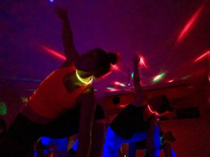 Cover Black Light Yoga