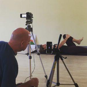 Filming a class